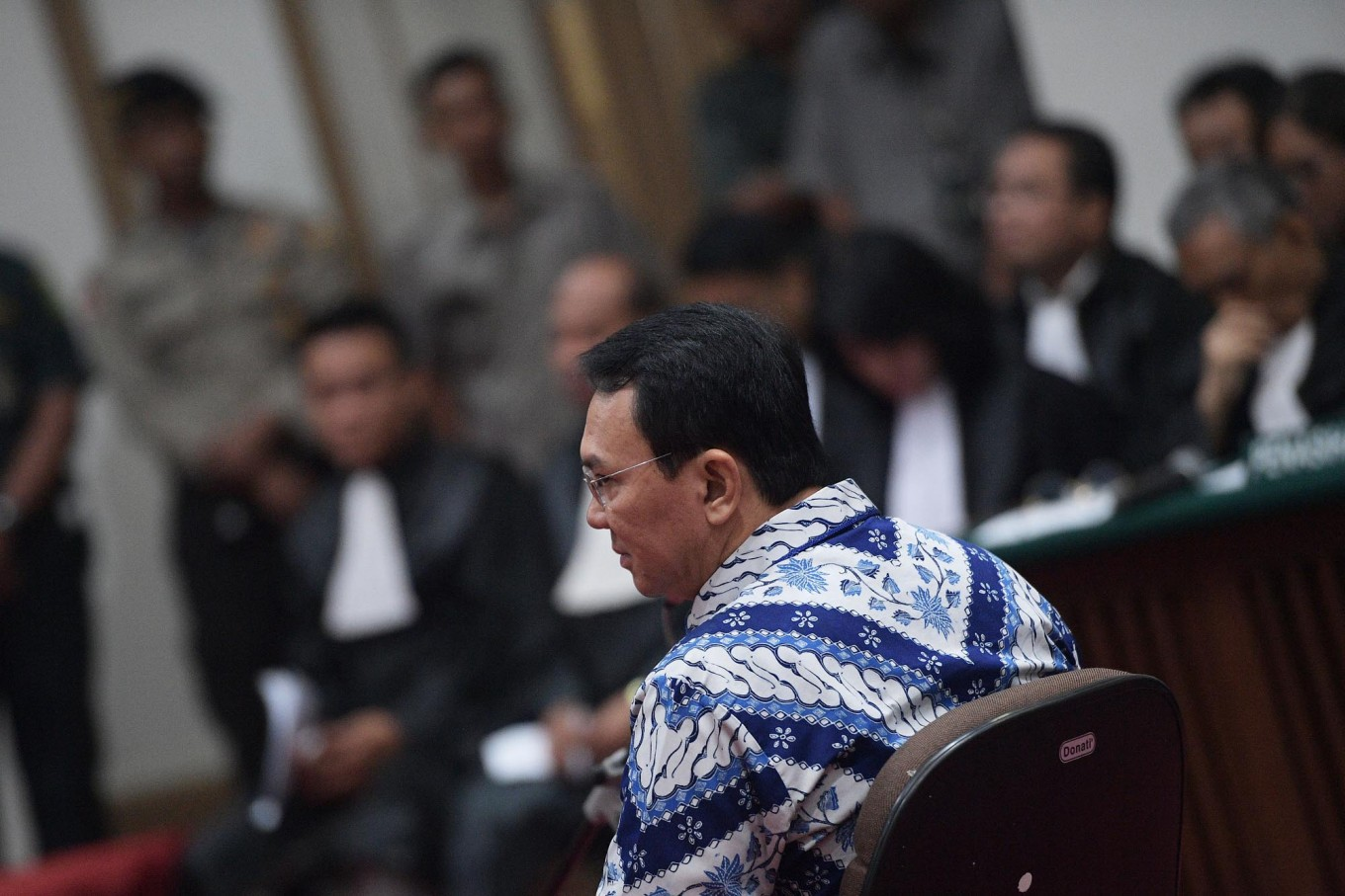 Ahok moved to Brimob detention center for security reasons