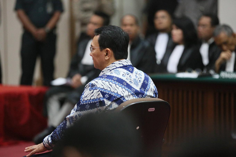Judges give Ahok stiffer sentence