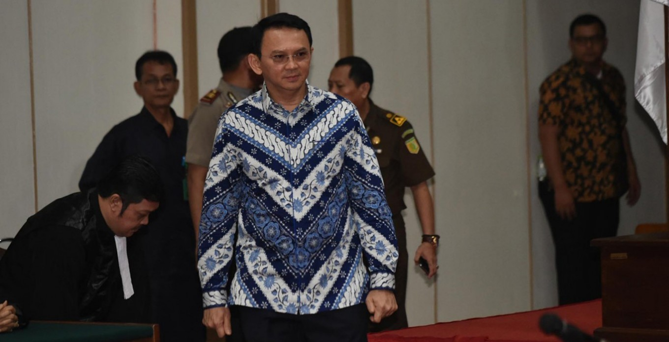 Ahok guilty of blasphemy, sentenced to two years