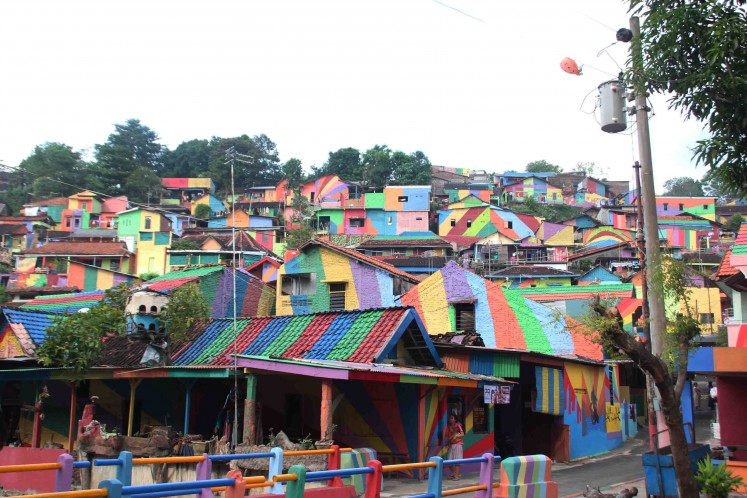 Colorful kampung becomes new tourist attraction in Semarang