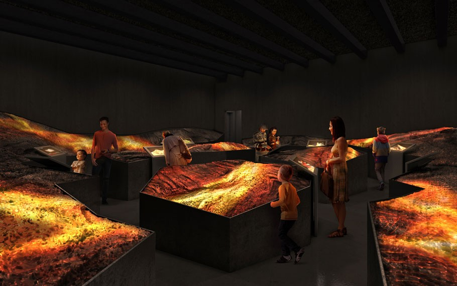 Learn about volcanoes in Iceland's Lava museum