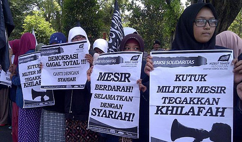 Indonesia disbands Islamic group Hizbut Tahrir
