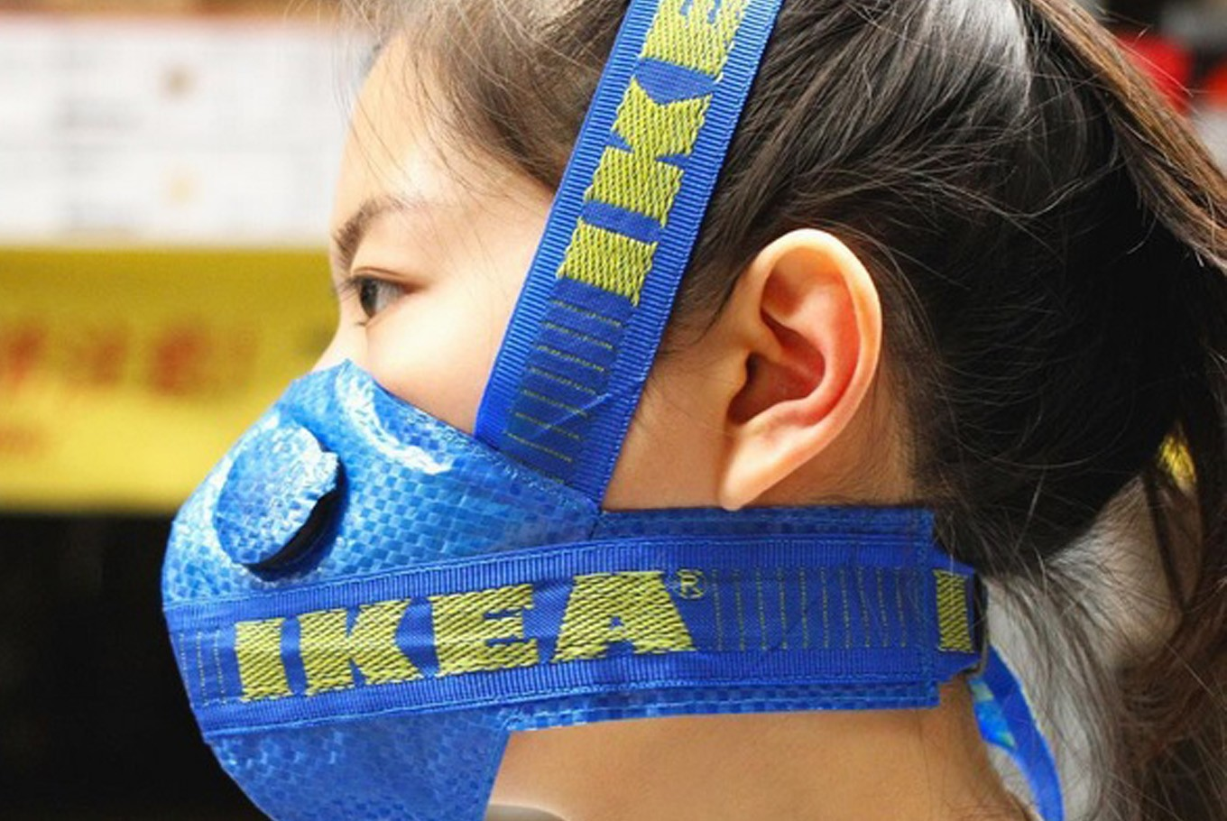 Social media users turn Ikea's Frakta bag into fashion items