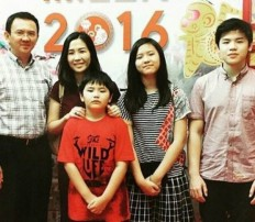 Tag ahok family the jakarta post ahoks sick son asks when his father will come home stopboris Gallery