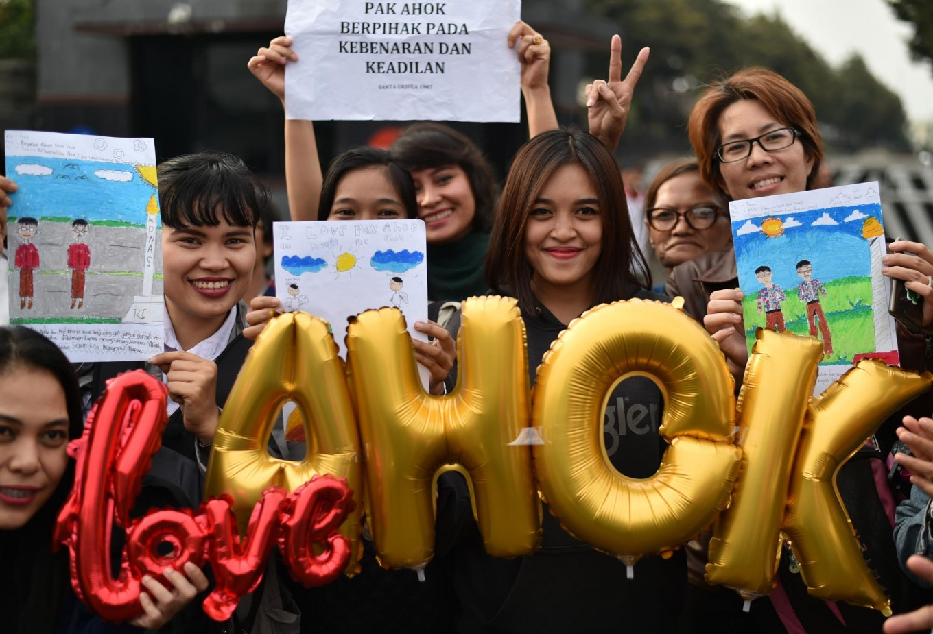 Support mounts for Ahok