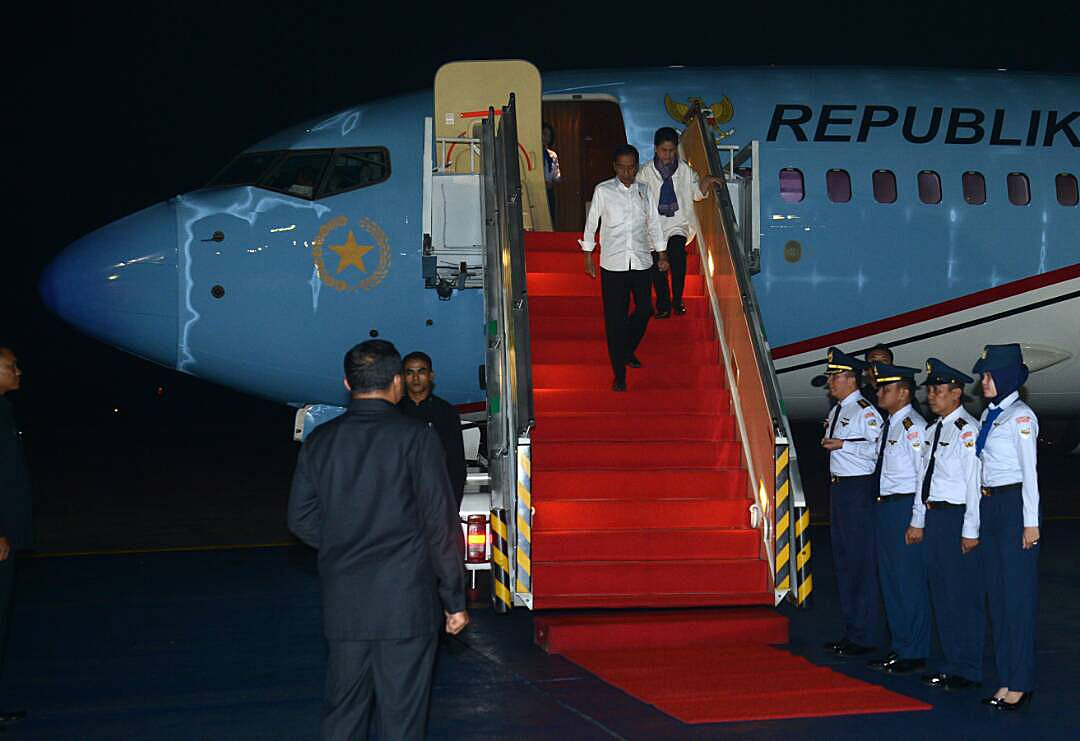 Jokowi concludes five-day working trip