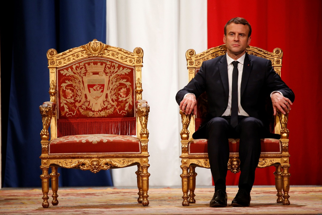 Emmanuel Macron France S Youngest President People The Jakarta Post