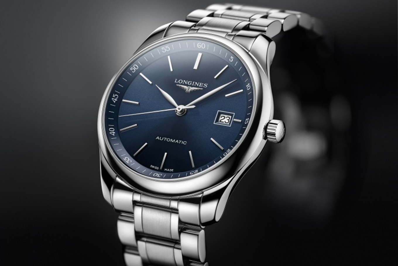 new products adbbe ac502 Longines launches Master Collection with sunray dials ...