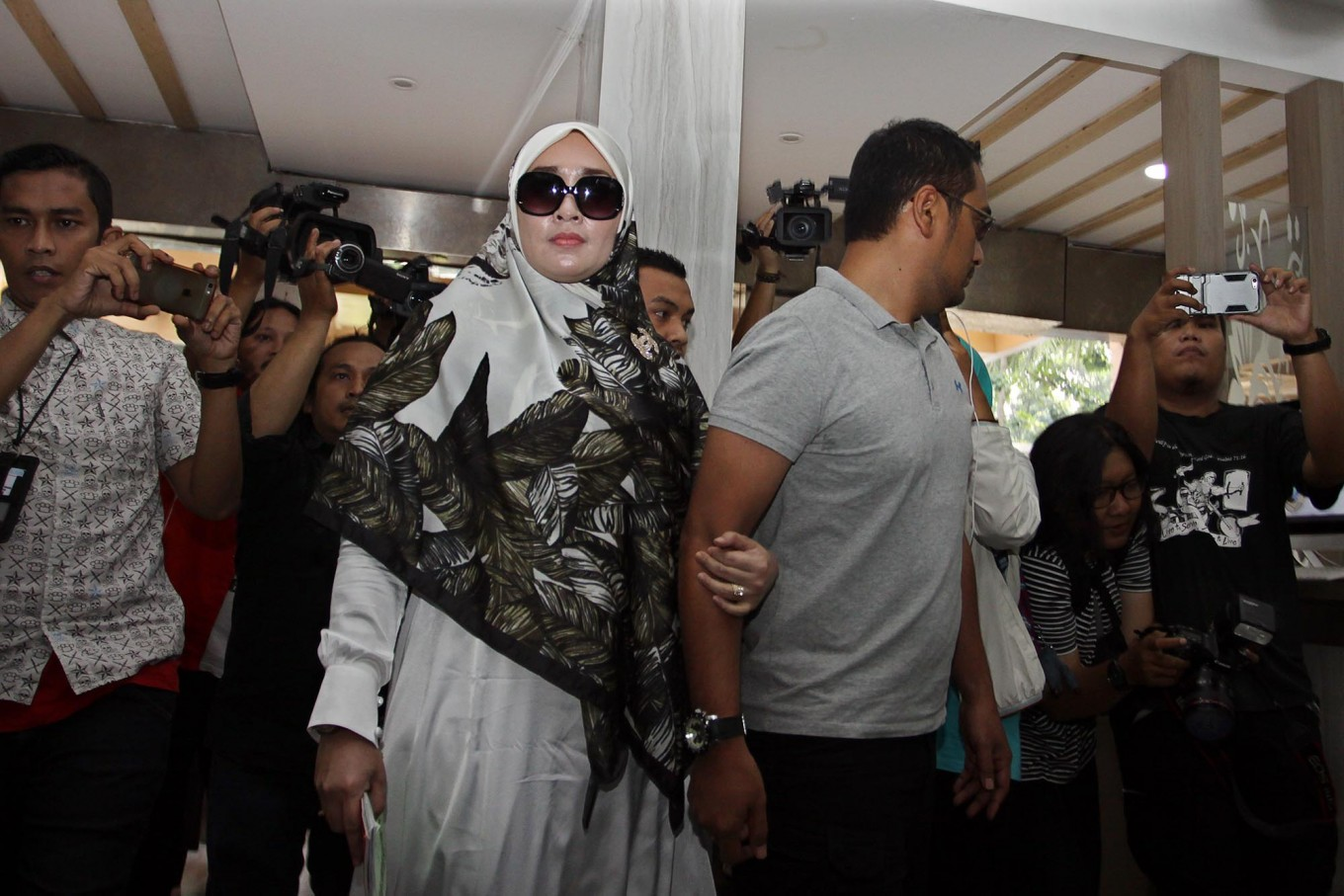 Firza Husein named suspect, charged under Porn Law
