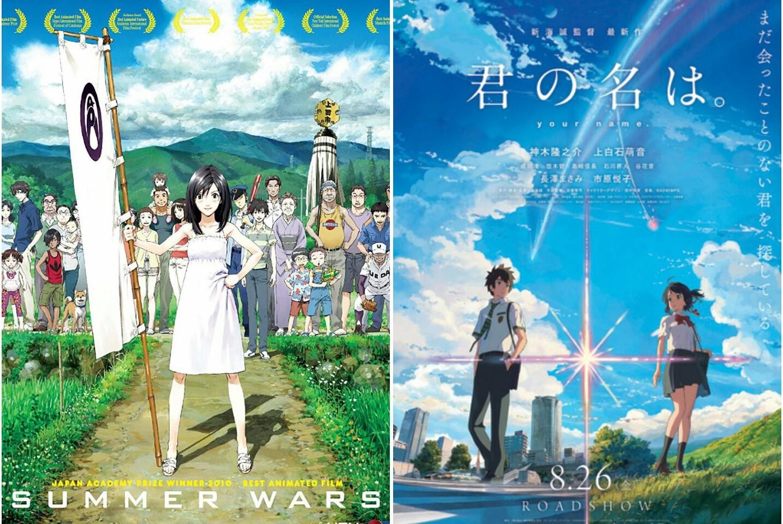 Anime Directors Mamoru Hosoda Makoto Shinkai Working On New Films
