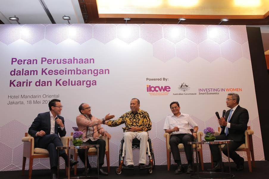 Indonesian CEOs seek balanced life for family, careers