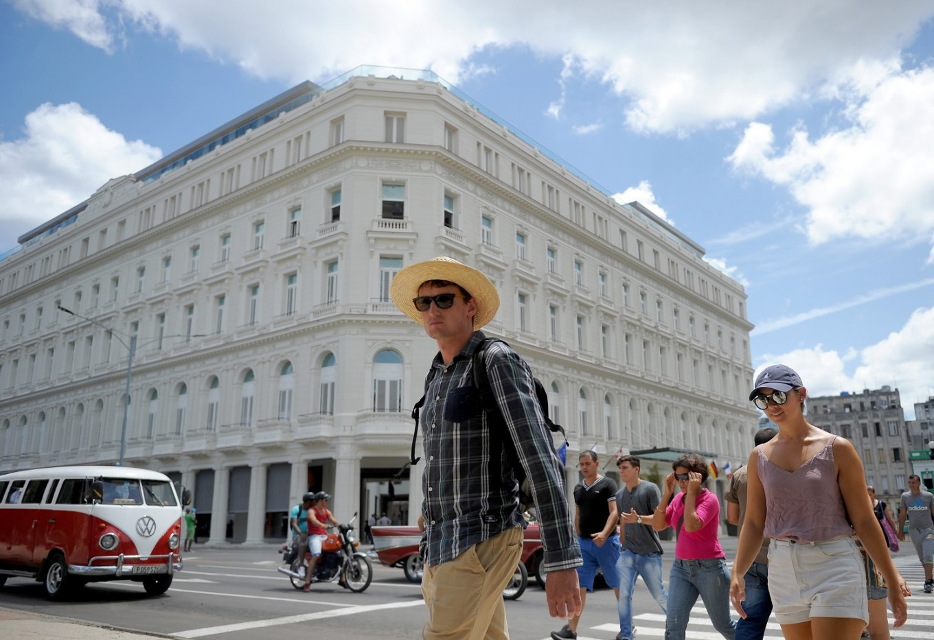 Cubas first luxury hotel opens in havana