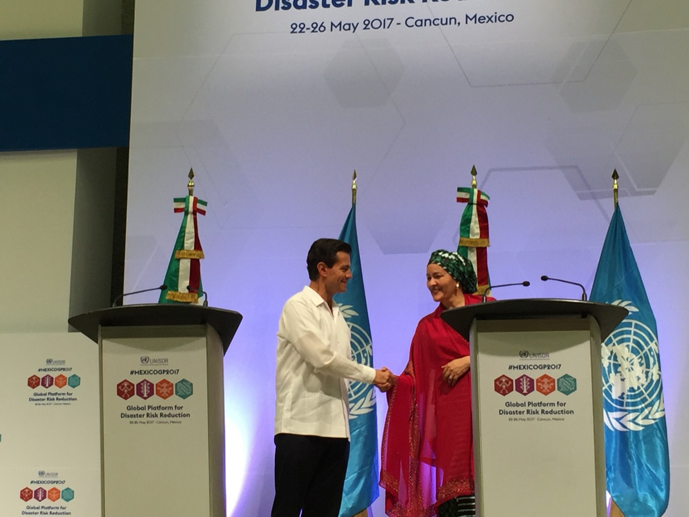 World leaders highlight disaster risk reduction challenges in communiqué