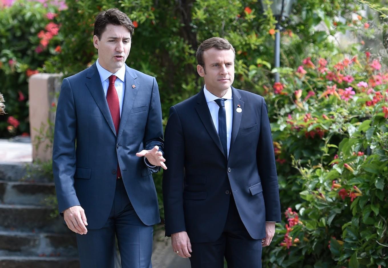 Macron, Trudeau deepen 'bromance' in Paris