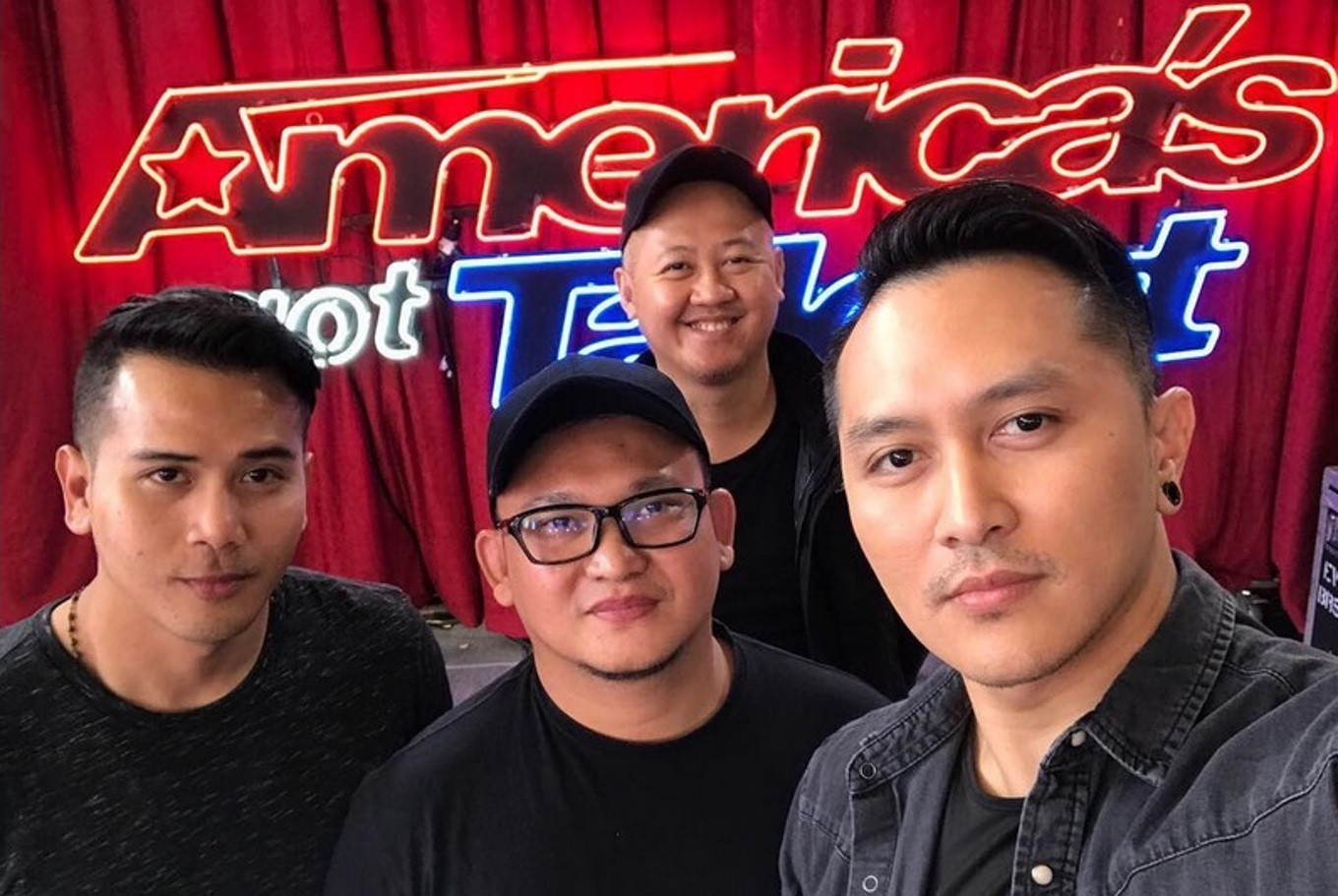 Americas got talent 2017 science guy - Demian And His Crew Prior To Performing On America S Got Talent Instagram Com _demianaditya_ File