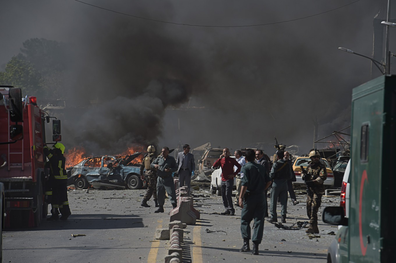 Taliban kill 30 soldiers in first major attack since ceasefire, governor says