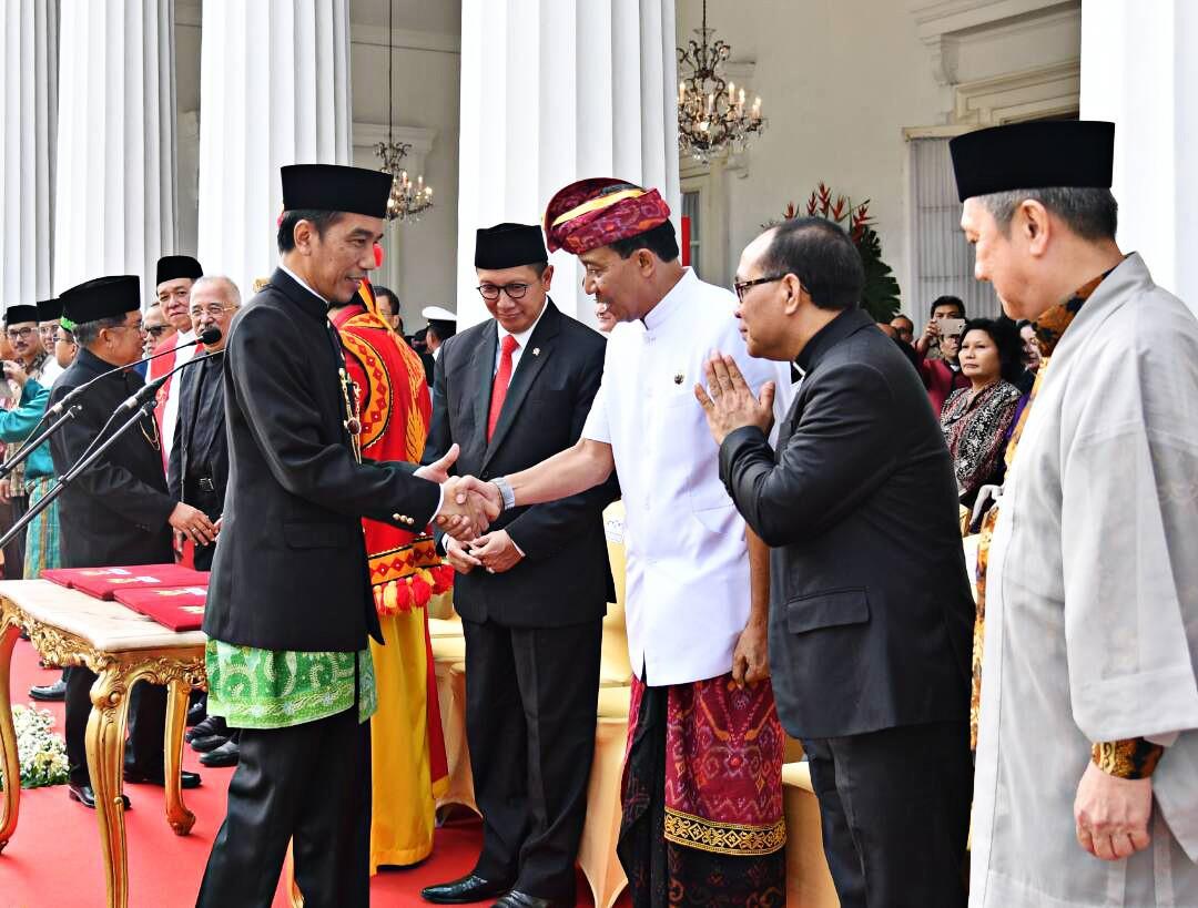 Jokowi emphasizes food security, farmers' welfare