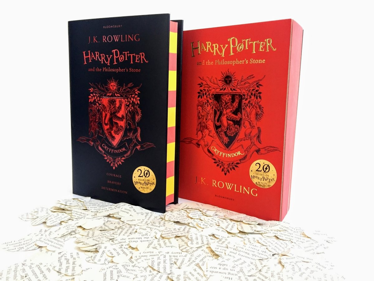 Harry Potter's Hogwarts house editions released