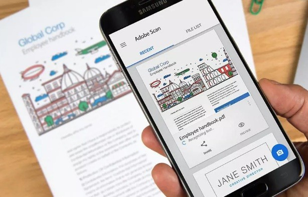 Adobe now lets you use your phone to scan documents