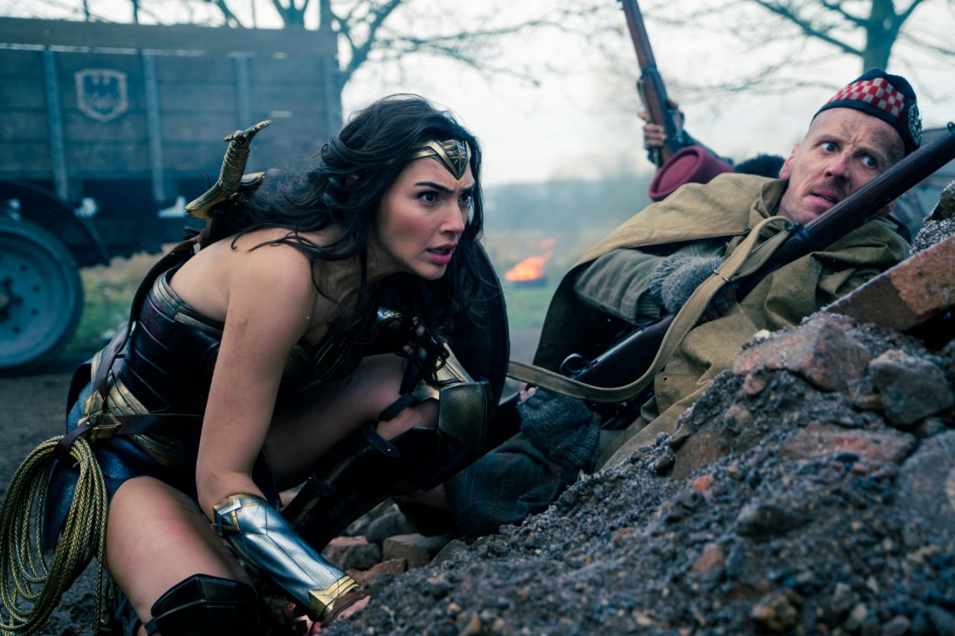 'Wonder Woman' muscles in on the men, dominating US box office