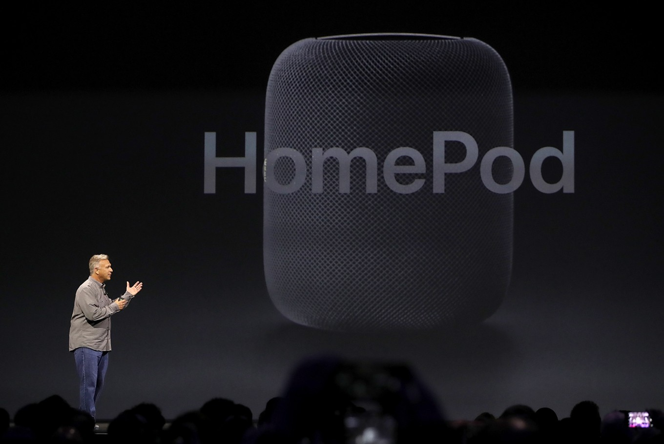 Apple Unveils HomePod Smart Speaker