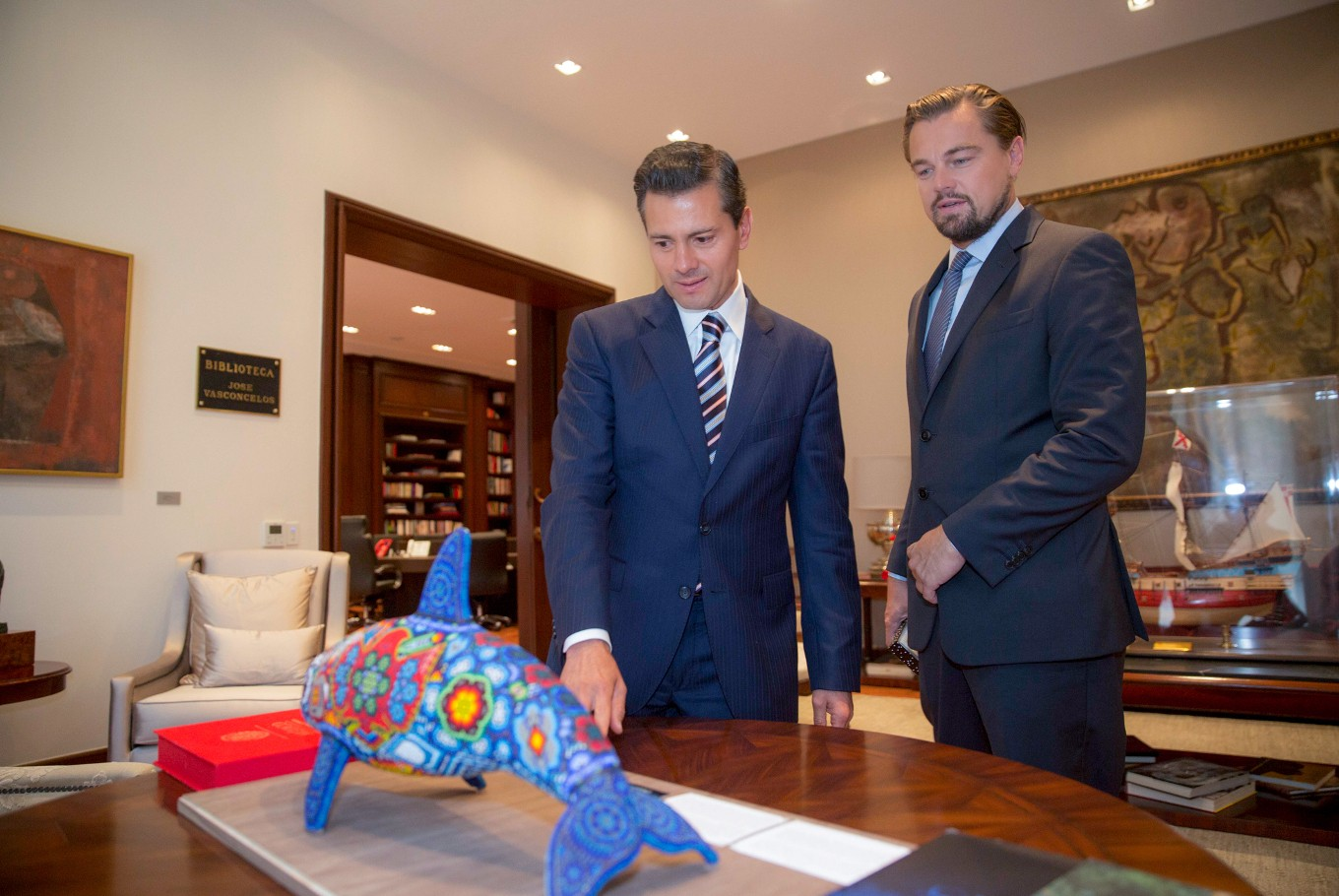 DiCaprio, Mexico in push to save vaquita porpoise