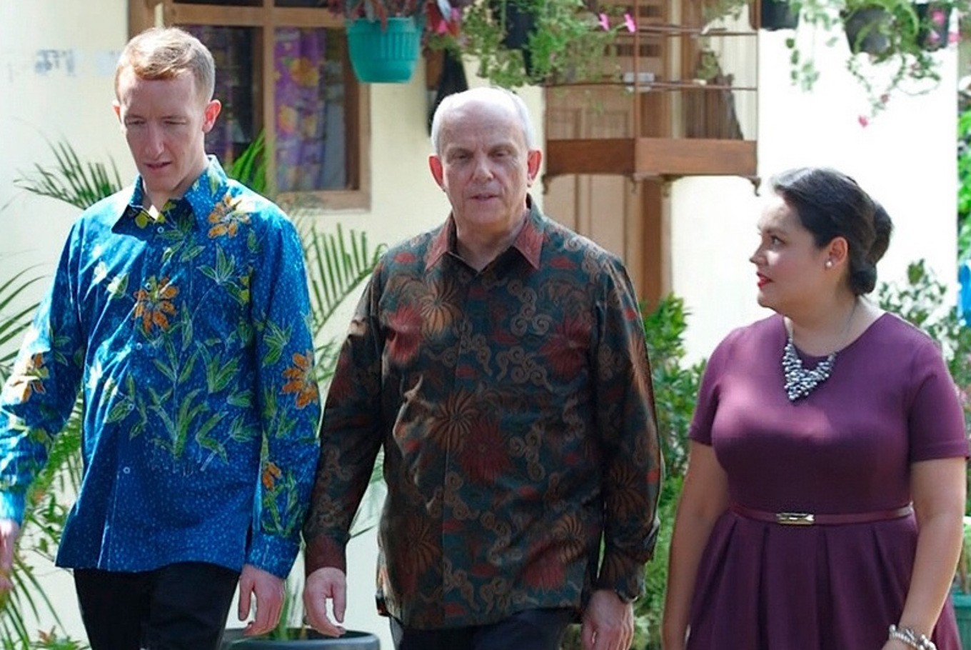 US Ambassador to Indonesia stars in local soap opera