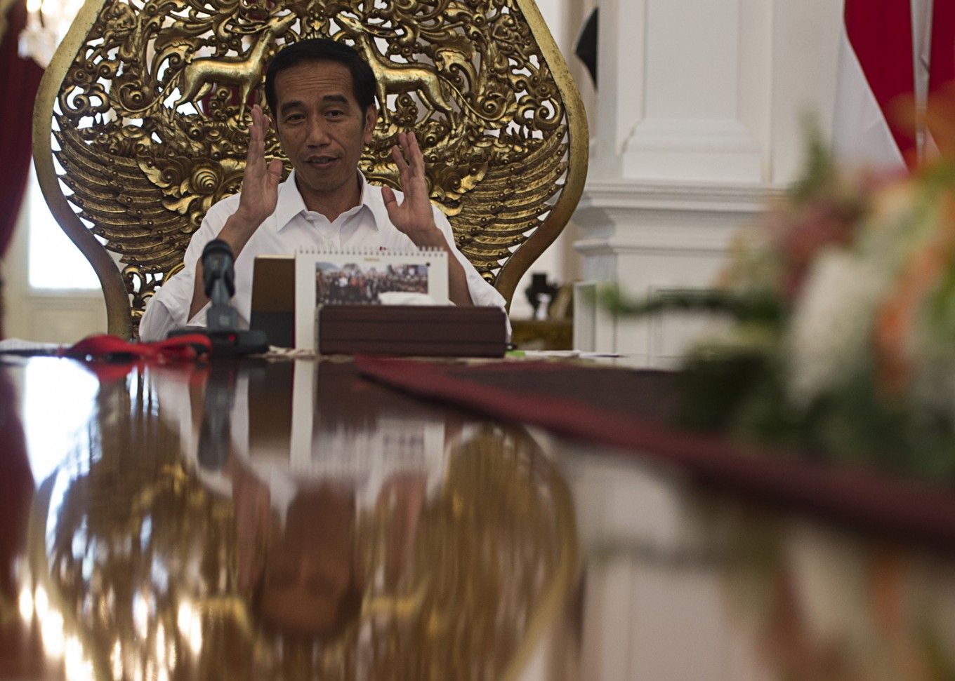 Govt welcomes revision of mass organization law, Jokowi says