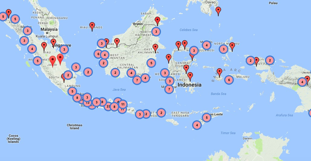 Jokowi's signature 'blusukan' visits translated into digital map