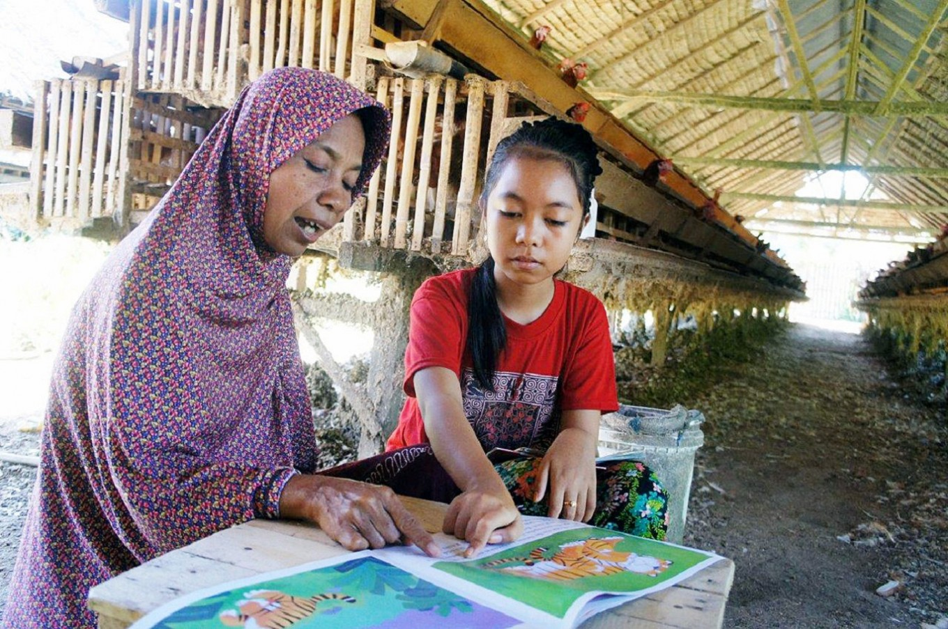 Aisyah's story: How books are changing lives