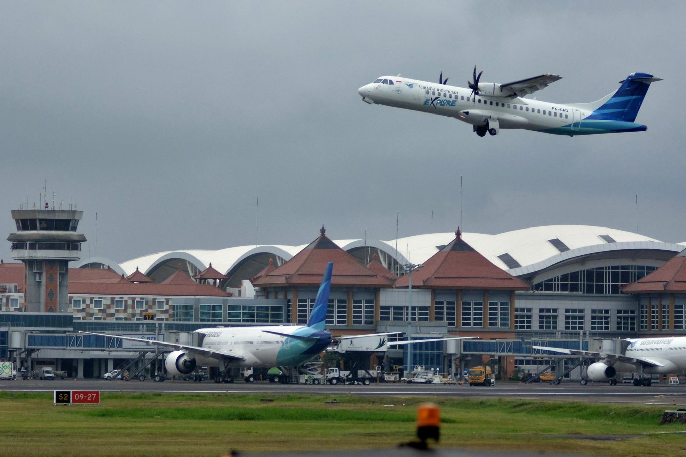 Garuda Indonesia pilot grounded over comment on Surabaya bombings