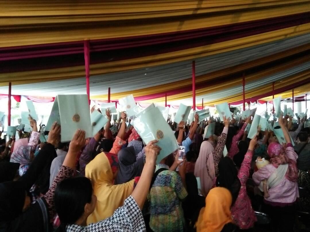 400k land plots in Purbalingga not yet certified