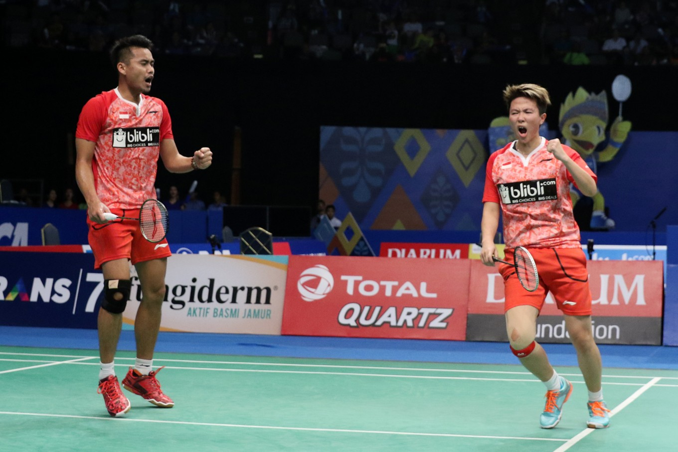 Tontowi and Liliyana advance to Indonesia Open semifinals World