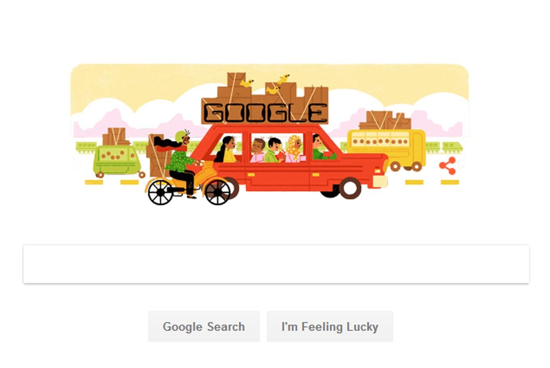 Google Doodle marks start of 'mudik'