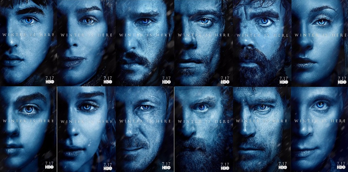 Winter is here: HBO unveils newest 'Game of Thrones' character posters