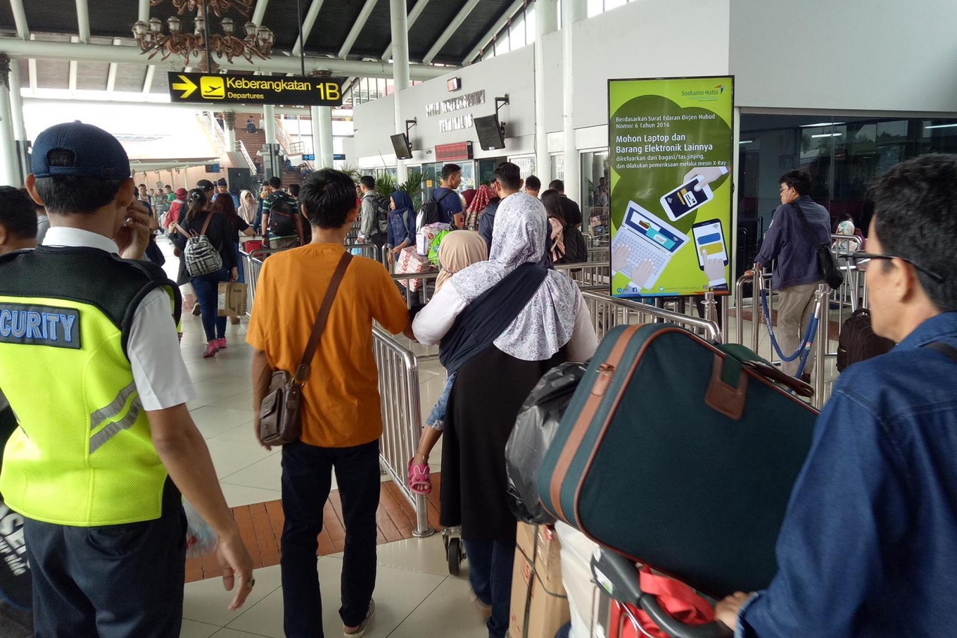 Idul Fitri Holidaymakers Pack Soekarno Hatta Airport City The Tas Laptop Massive Series