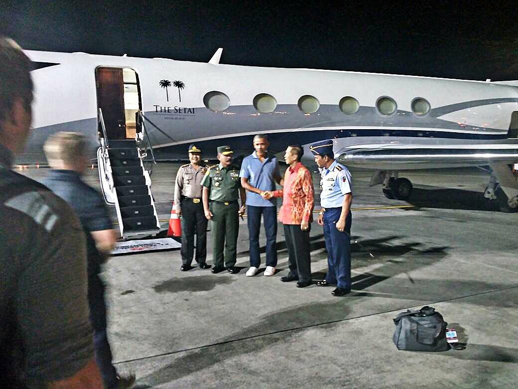 Bali welcomes Barack Obama and family