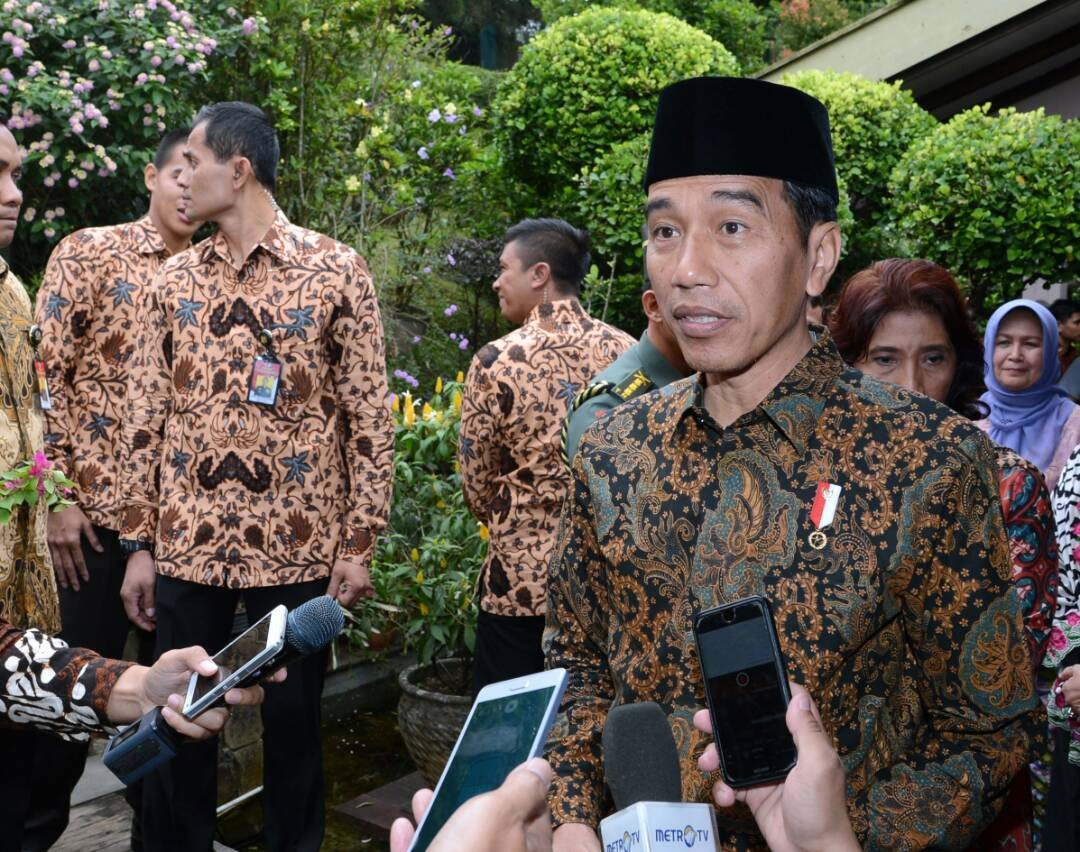 I don't have face of a dictator: Jokowi