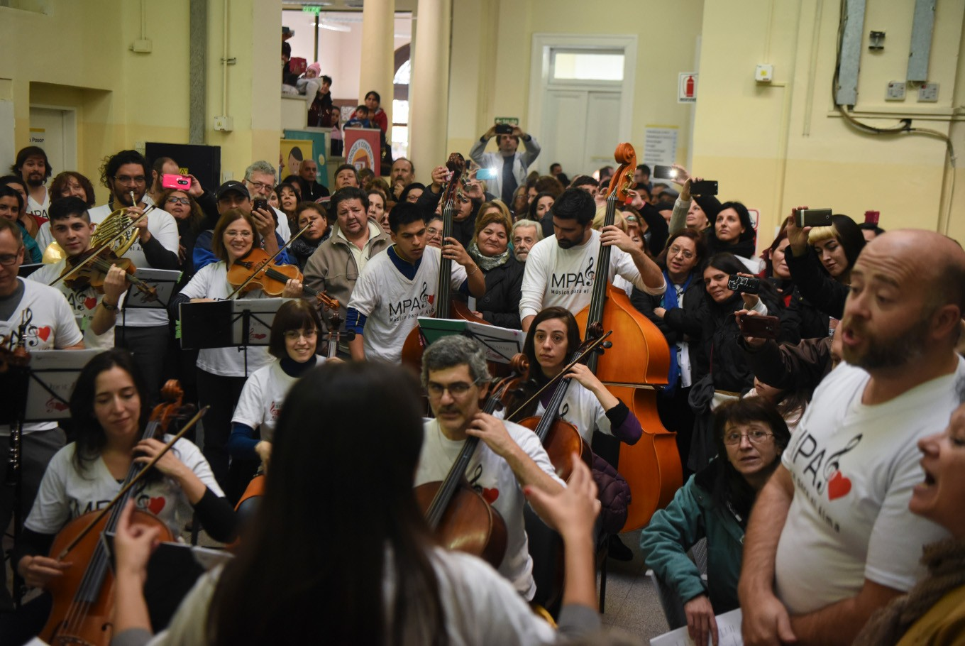 In Argentina, music cures the soul