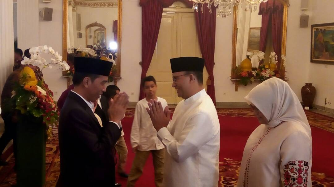 Anies' team to prepare VR devices during inauguration