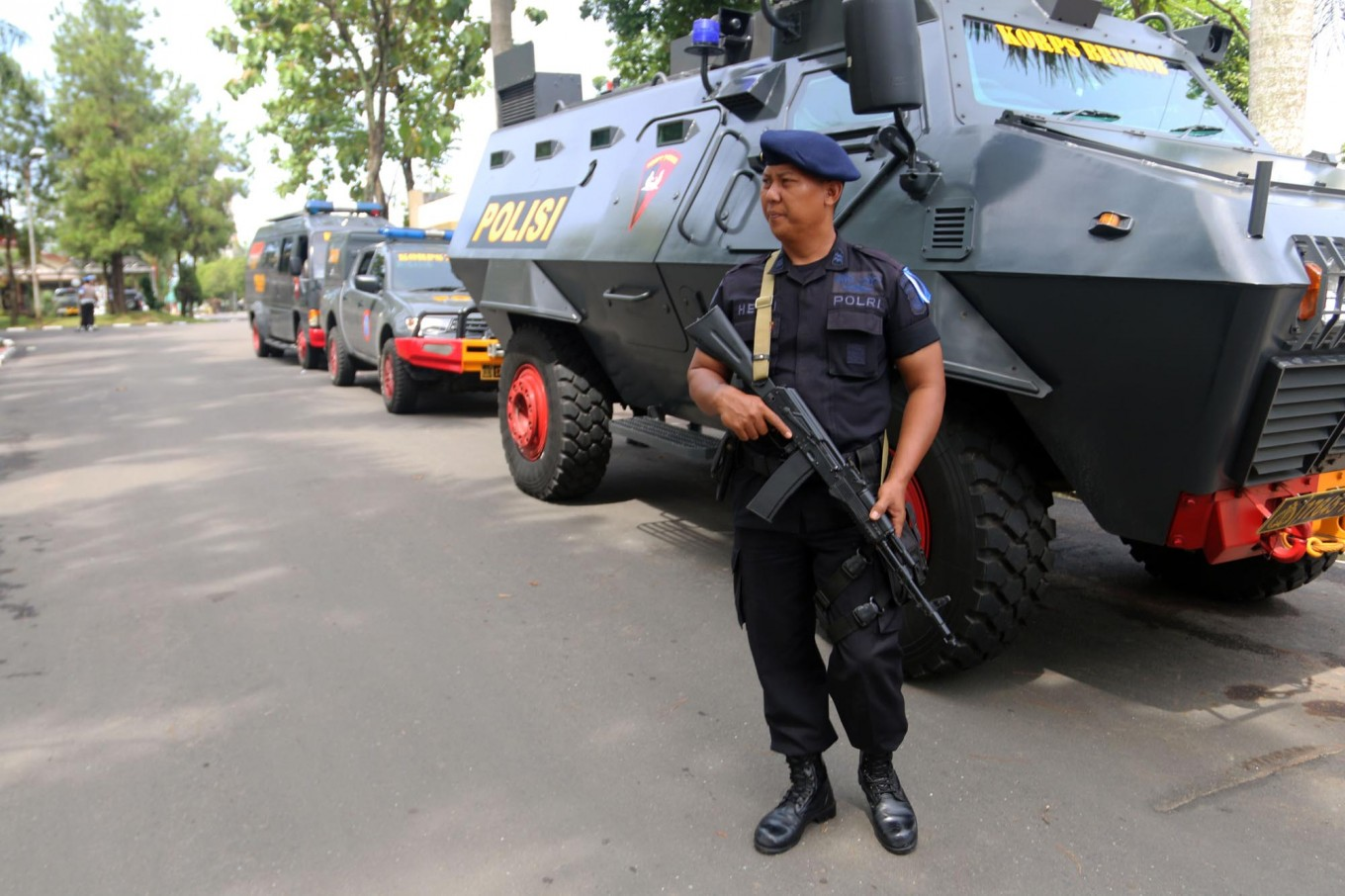 Medan Police attackers linked to IS: Police
