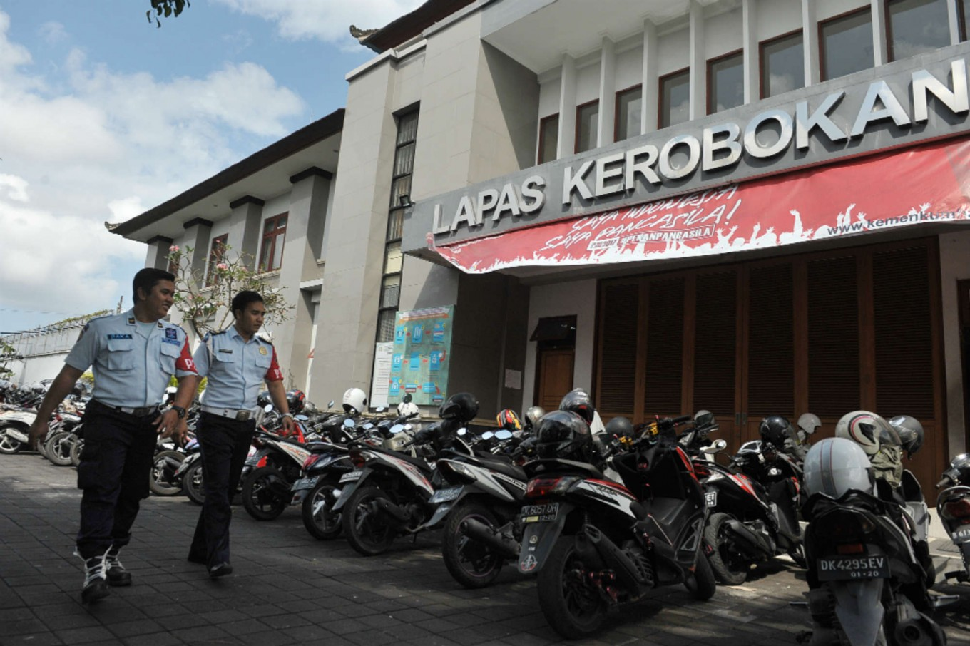American claims extortion behind Bali jailbreak