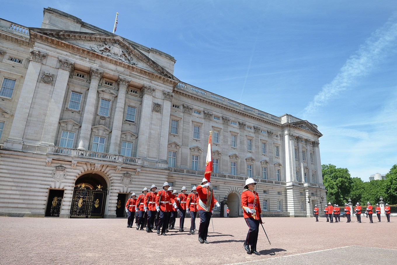 Queen Elizabeth to vacate her Buckingham Palace rooms for refit - aide