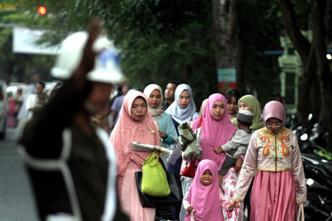 Indonesians abroad celebrate lonely Idul Fitri
