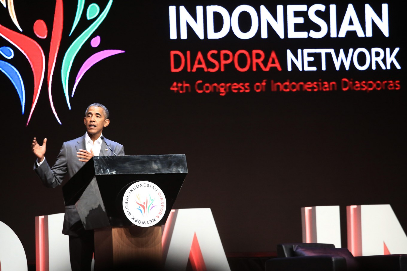 Dual citizenship, rift headline Indonesian diaspora congress