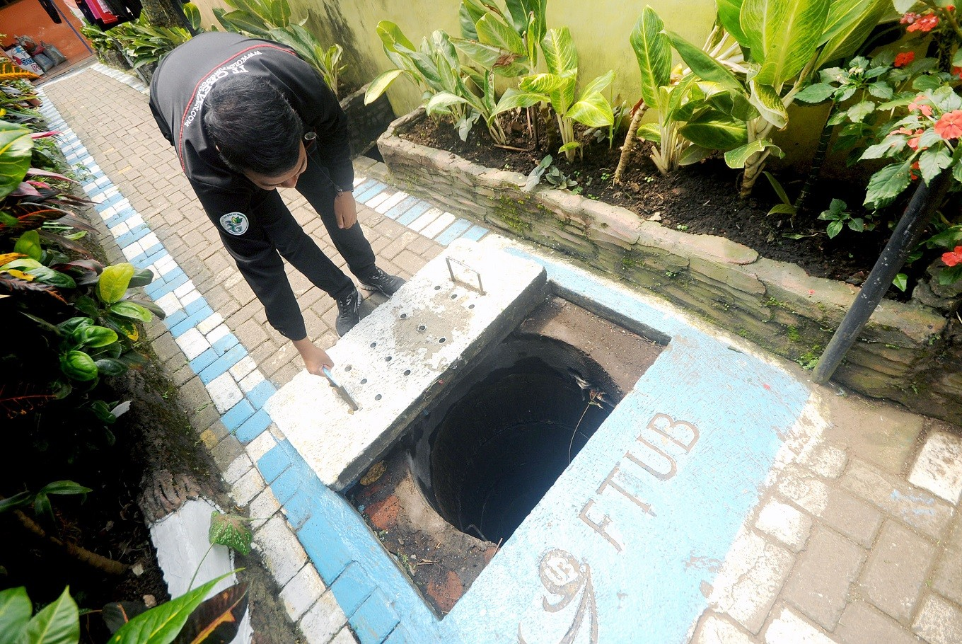 Glintung, saving rainwater and preventing floods