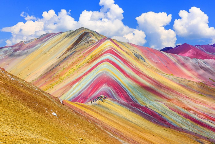 Chasing the end of the rainbow in Vinicunca, Peru