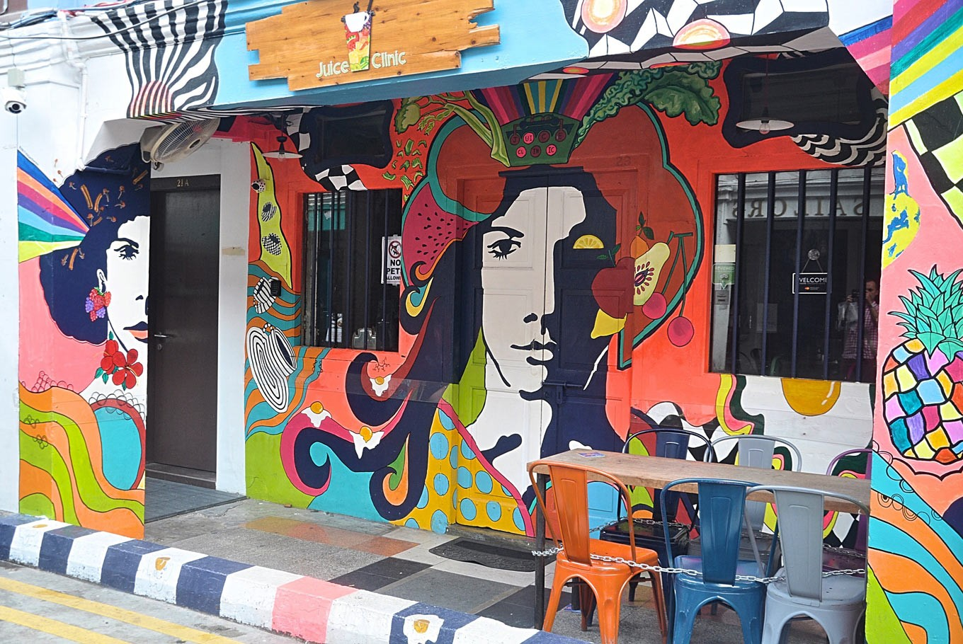 Visit these murals for your #ootd posts from Singapore