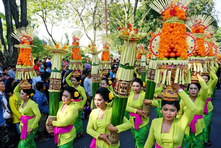 Bali Arts Festival: Ensuring relevance of island's traditional arts.