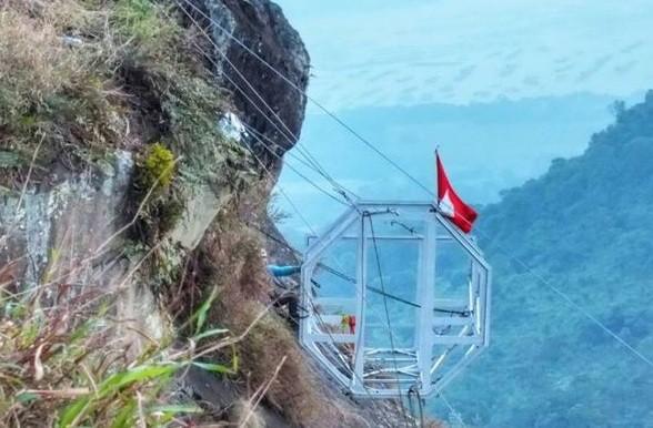 Hanging hotel coming soon to Mount Parang, Purwakarta